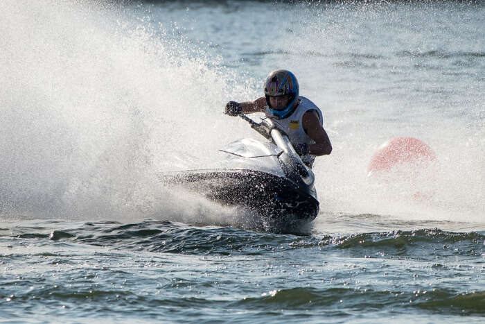 Indulge in some water sports_