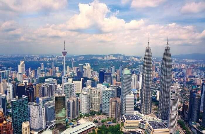 Urban Cityscape Skyline
