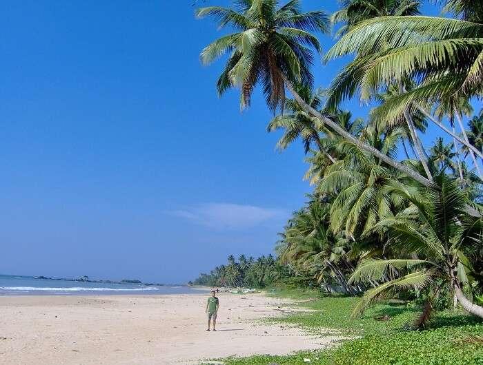 beach in matara