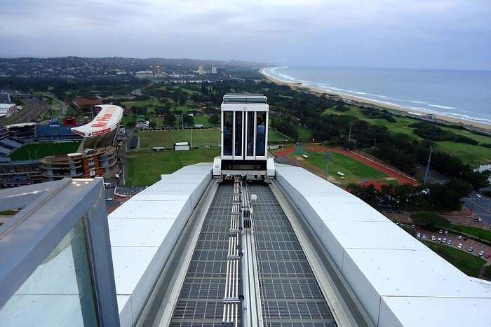 South Africa Durban Stadium Skycar