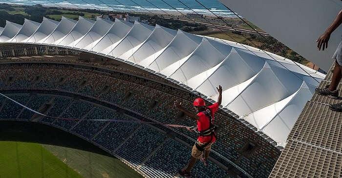 Beautiful view of Stadium