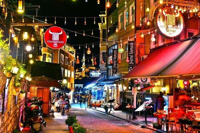 Nightlife in Turkey