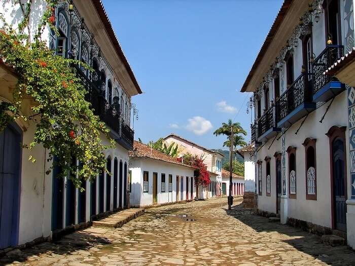 Paraty is especially intriguing