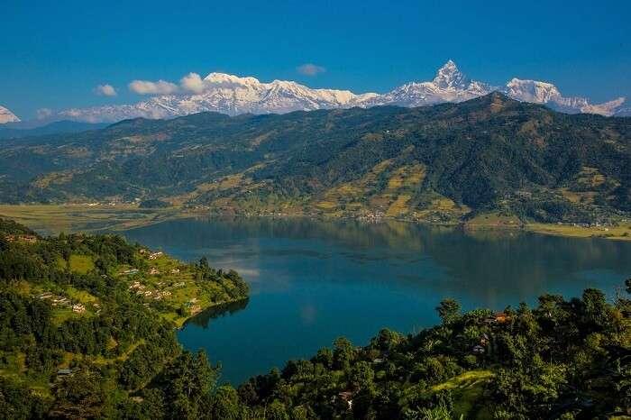 natural freshwater lake