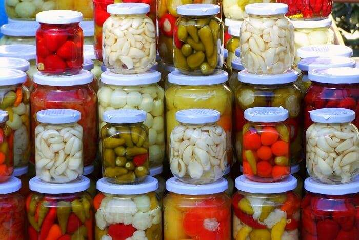 Pickled Fruits
