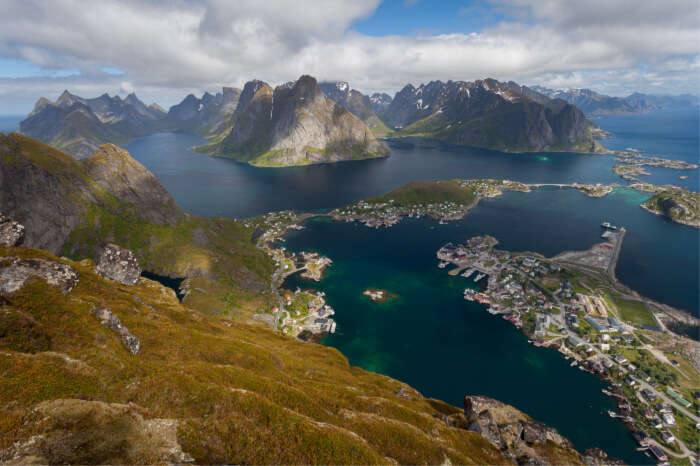 most elevated peaks on Lofoten Islands