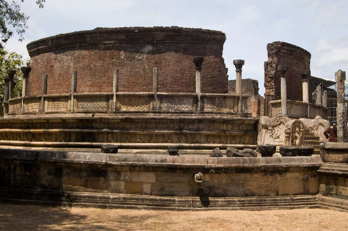 Sacred Quadrangle in Polonnaruwa