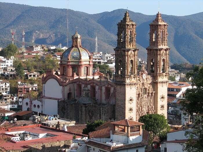 emblematic Mexican churches