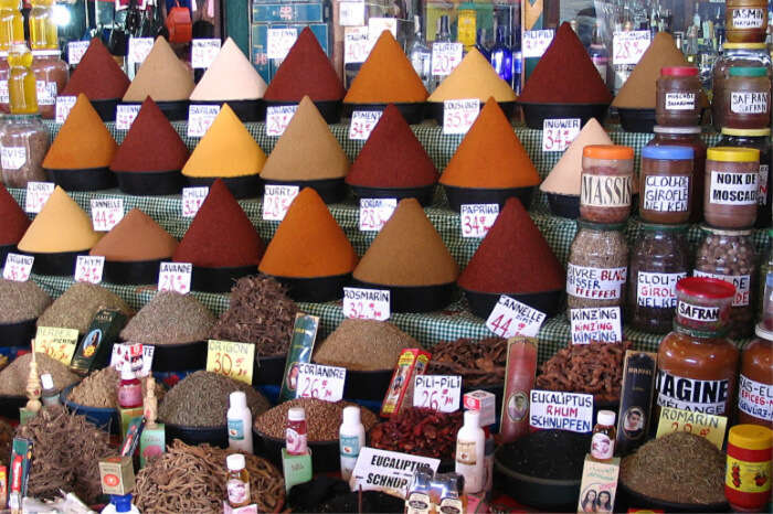 Cooking and amazing spices