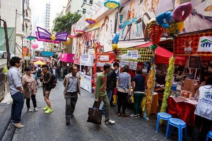 Shopping Centres lan kwai fong