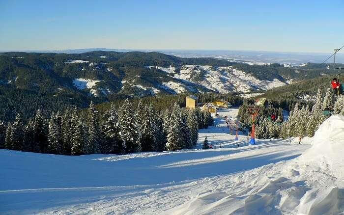 Skiing Ilgaz Mountain Resort