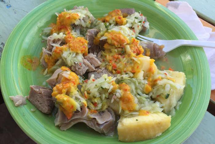 local food of bahamas