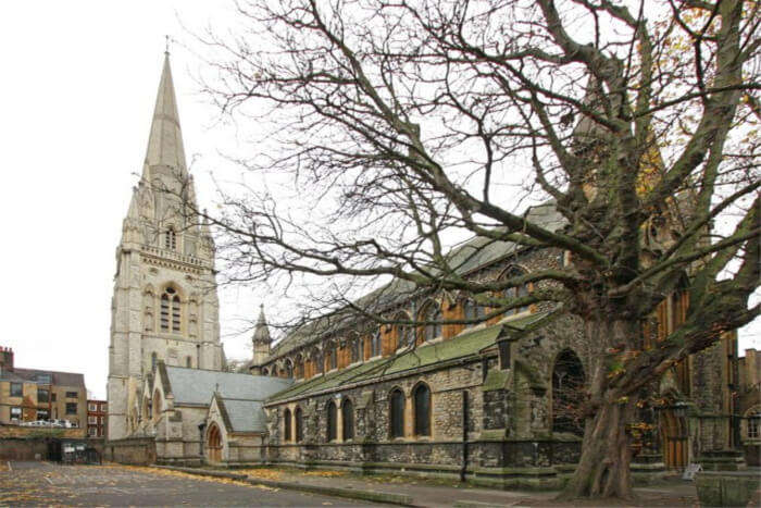 St. Mary Abbots Church- An architectural masterpiece