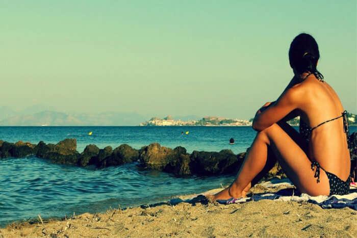 Tan On The Beach