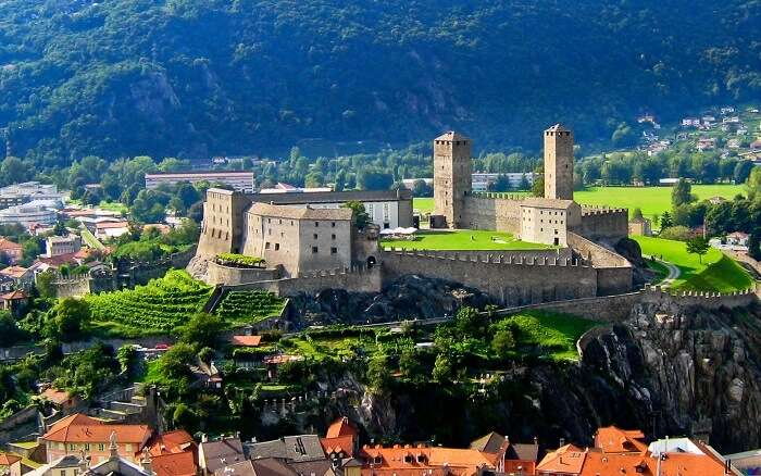 The Castles of Bellinzona