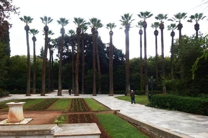 The National Garden of Athens