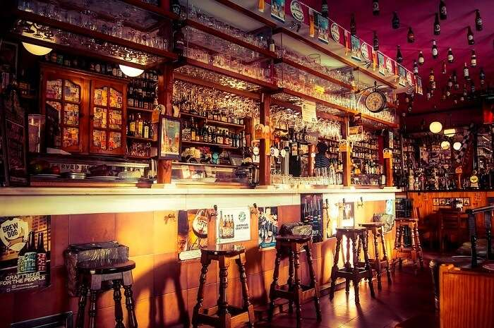 international beers and spirits