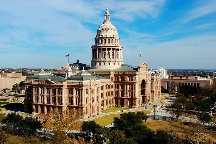 The Texas State Capitol, Austin
