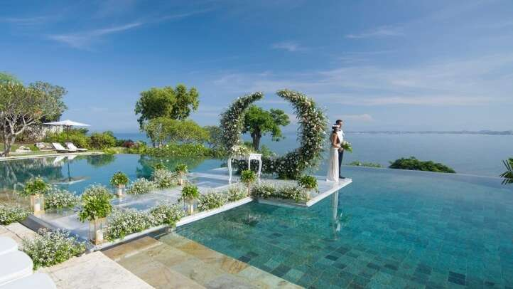 The location is beyond imagination bali four seasons