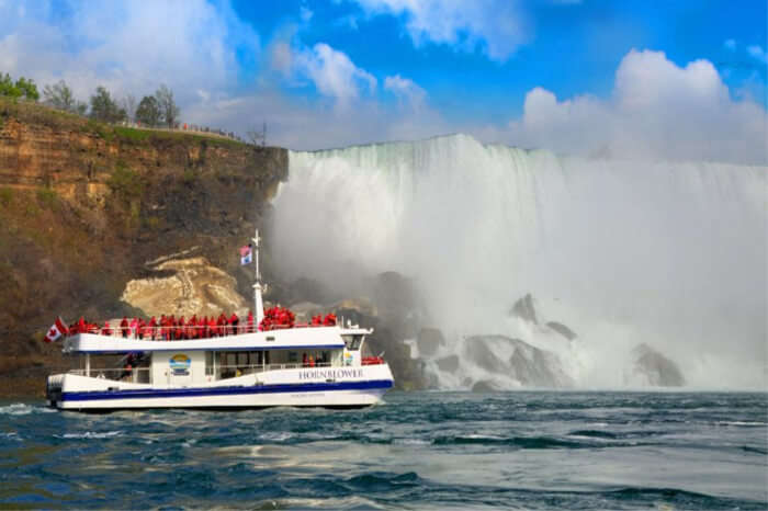 American side of the Niagara Fall