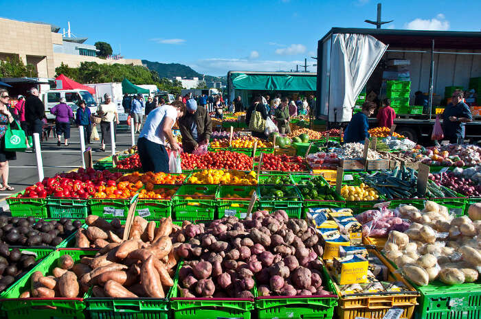 Wellington Harbourside Market