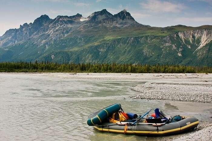 enjoy rafting