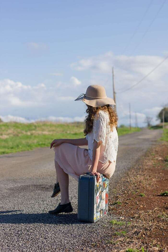 hitchhike with a headscarf