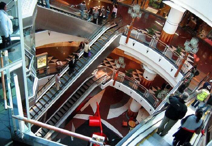 mall inside view