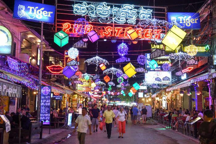 Shopping In Cambodia