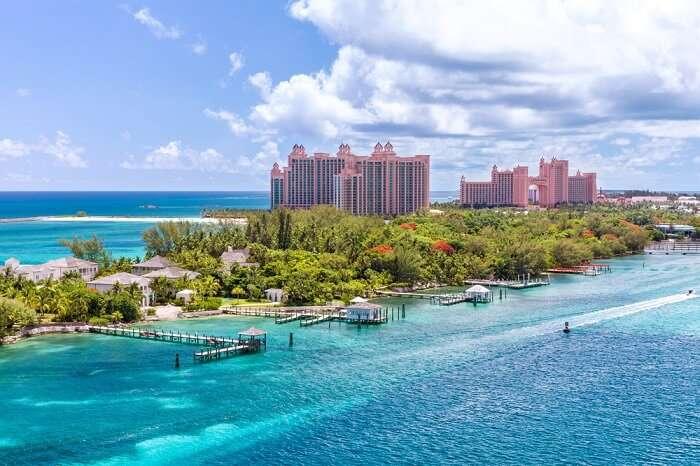 Major attractions in Bahamas