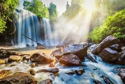cover for waterfall attractions in cambodia