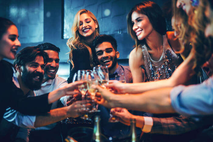 people enjoying in bars