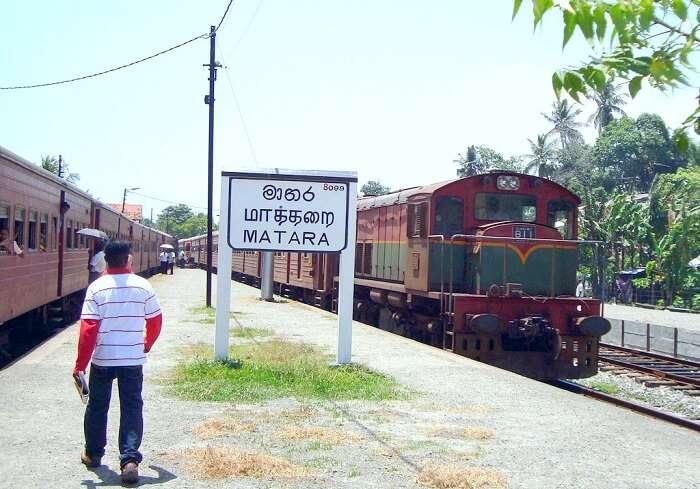 matara railway station
