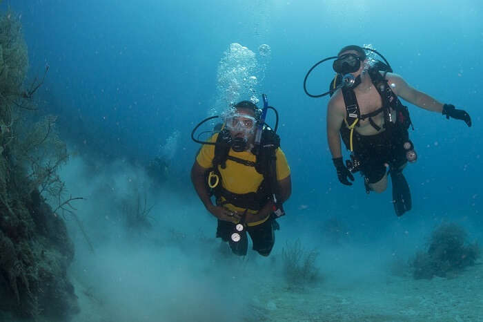 one of the oldest diving schools