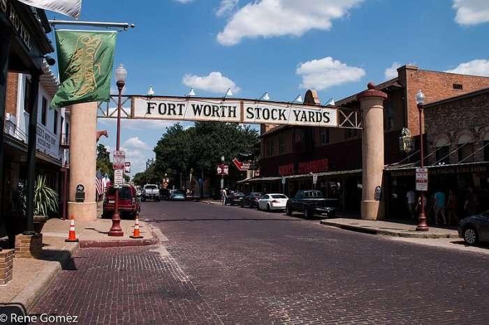 Stockyards district