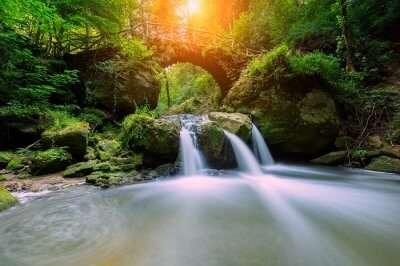 Magnificent Switzerland Waterfalls