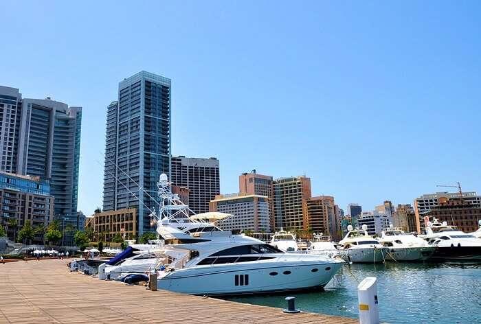 Beirut is on the Mediterranean coast