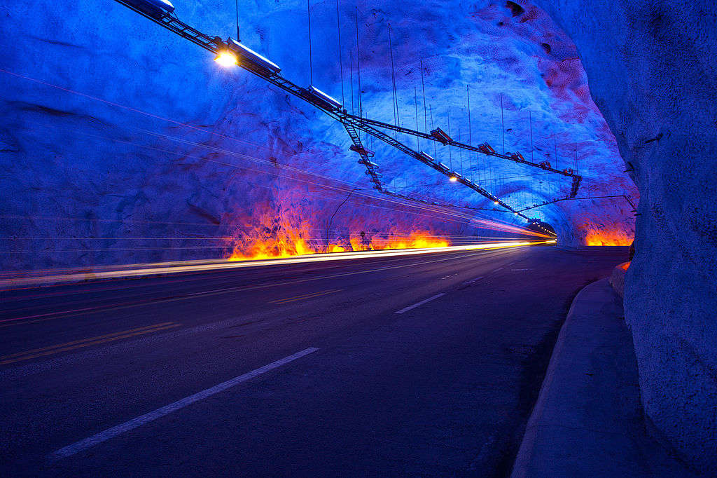 the longest tunnel of Norway
