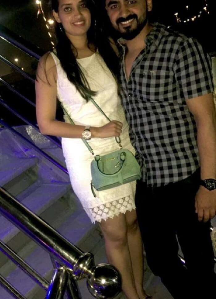 Party with my wife in Dubai