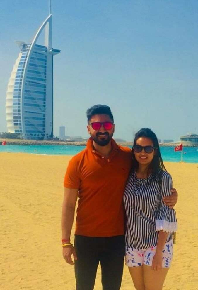 Dubai City Tour with my wife