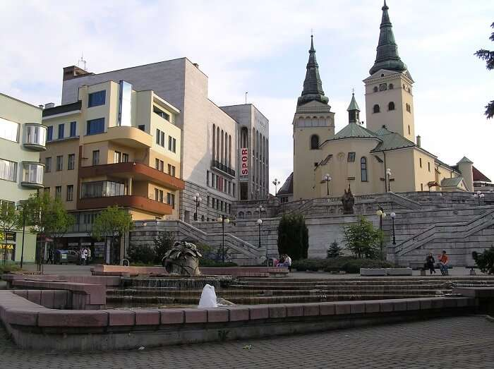 A view of Zilina