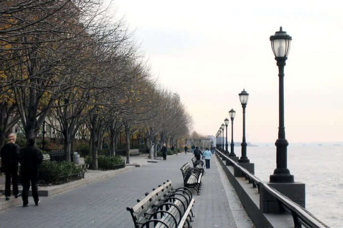 About Battery Park In New York