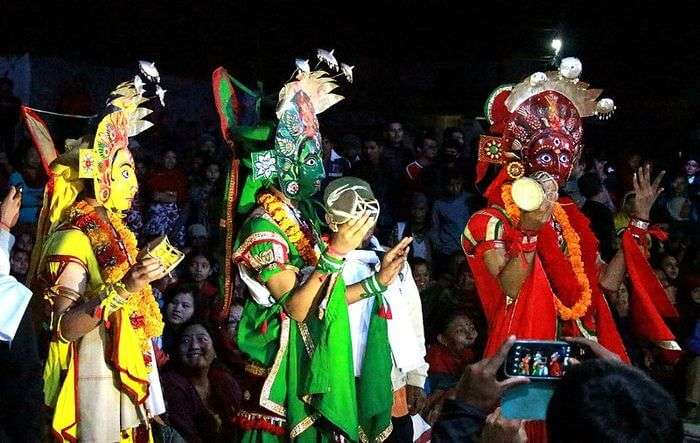 Tamangs Culture and dancing View