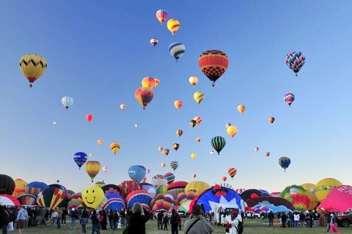 Alburquerque International Balloon Festival