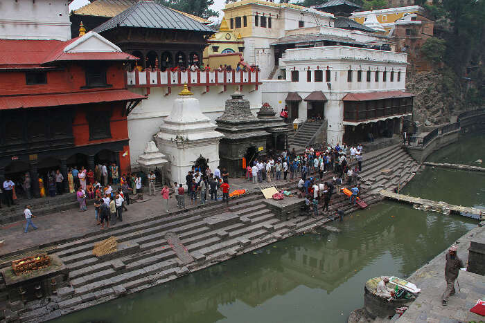 Aryaghat of Pashupatinath Temple