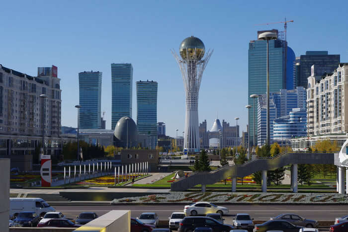 astonishing capital of Kazakhstan