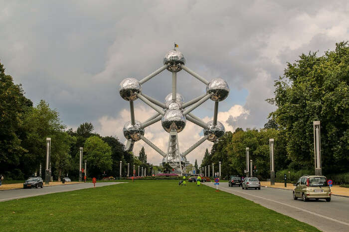 Atomium Brussels in Belgium