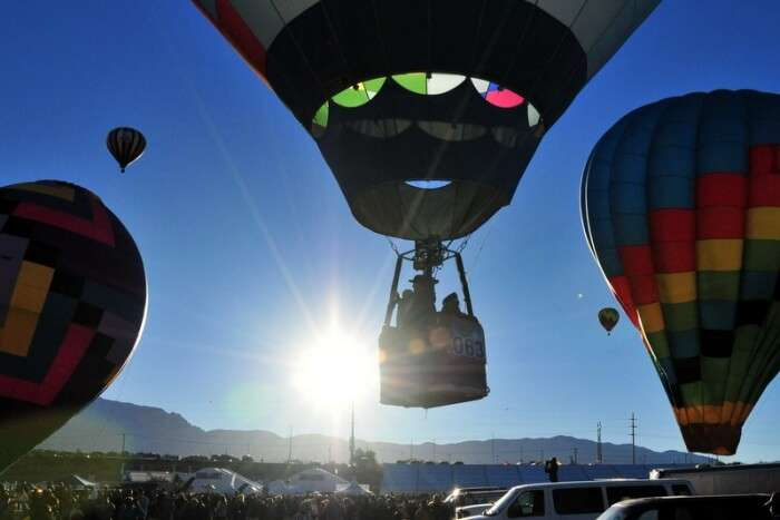 Balloon safaris over Phoenix region