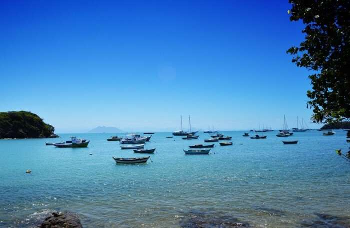 southern coast of Buzios