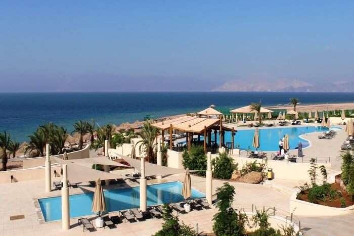 Berenice Beach in Jordan